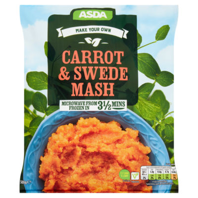 ASDA Make Your Own Carrot & Swede Mash