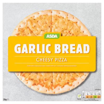 ASDA Garlic Bread Cheesy Pizza