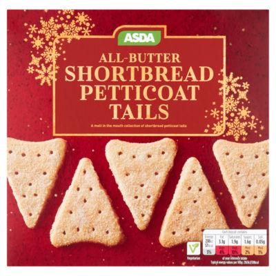 ASDA All-Butter Shortbread Petticoat Tails