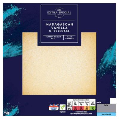 ASDA Extra Special Madagascan Vanilla Cheesecake