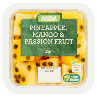 ASDA Pineapple, Mango & Passion Fruit