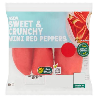ASDA Mini Red Peppers