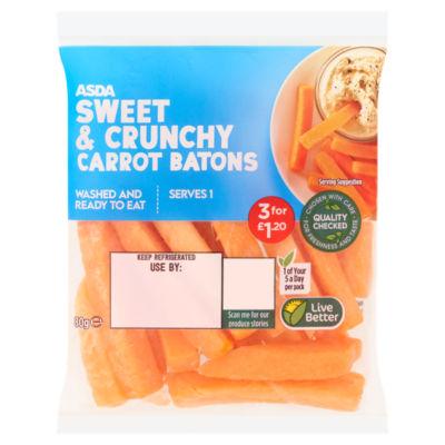 ASDA Carrot Batons