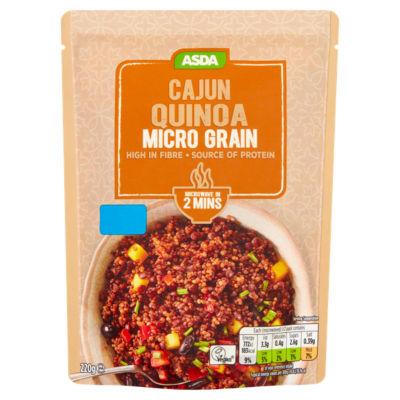 ASDA Cajun Quinoa Micro Grains
