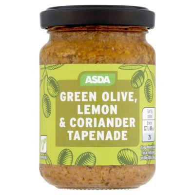 ASDA Green Olive, Lemon & Coriander Tapenade