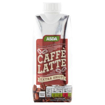 ASDA Caffé Latte Extra Shot