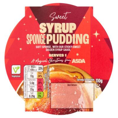 ASDA Syrup Sponge Pudding