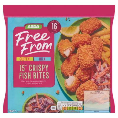 ASDA Free From 15 Gluten Free Fish Bubble Bites