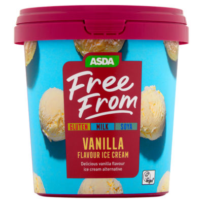 ASDA Free From Vanilla Ice Cream