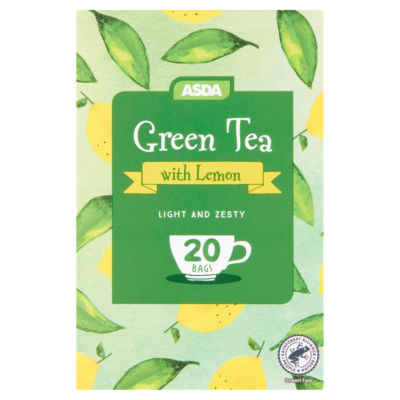ASDA Green Tea with Lemon 20 Tea Bags