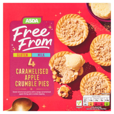 ASDA Free From 4 Caramelised Apple Crumble