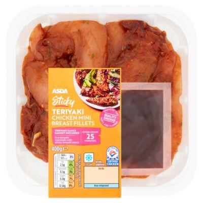 ASDA Butcher's Selection Teriyaki British Chicken Mini Breast Fillets