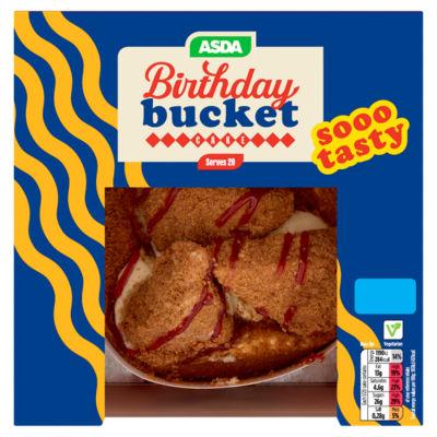 ASDA Birthday Bucket Cake