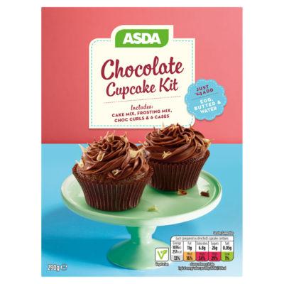 ASDA Chocolate Cupcake Kit
