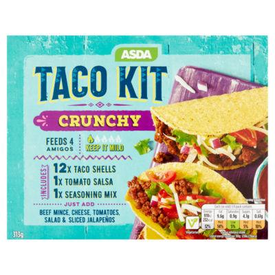 ASDA Asda Taco Kit Crunchy 313g