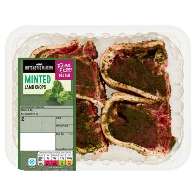 ASDA Butcher's Selection Minted Lamb Chops