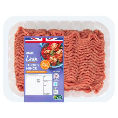 ASDA Butcher's Selection British Turkey Lean Mince