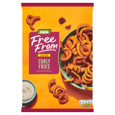 ASDA Free From Free From Curly Fries