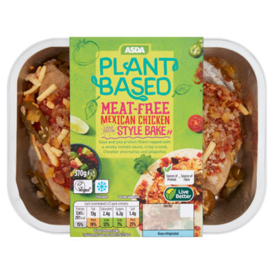 ASDA Plant Based Meat-Free Mexican Chicken Style Bake