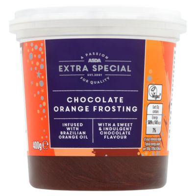 ASDA Extra Special Chocolate Orange Frosting