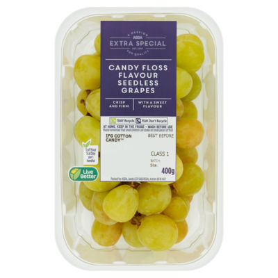 ASDA Extra Special Candy Floss Flavour Seedless Grapes