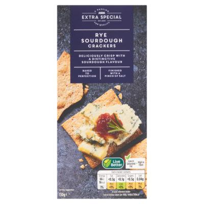 ASDA Extra Special Rye Sourdough Crackers