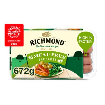 Richmond 16 Vegan Meat Free Sausages