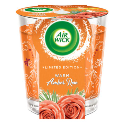 Air Wick Warm Amber Rose Candle