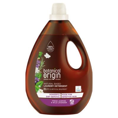 Botanical Origin Concentrated Eco Laundry Detergent, Fresh Jasmine & Lavender 1.6L
