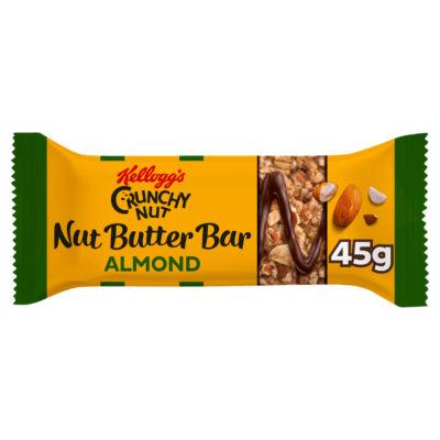Kellogg's Crunchy Nut Butter Bar Almond Butter