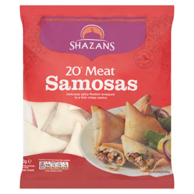 Shazans Meat Samosas