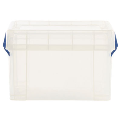 Really Useful Boxes Clear Crate with Lid