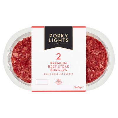 G. White & Co 2 British Beef Chuck Steak Burgers