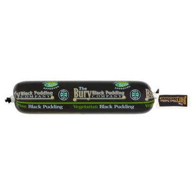 The Bury Black Pudding Company Vegetarian and Vegan Black Pudding Roll