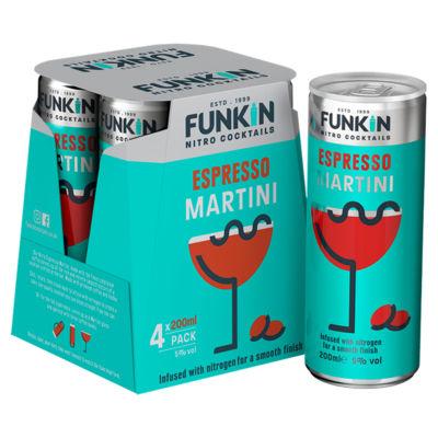 Funkin Nitro Cocktails Espresso Martini
