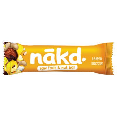 Nakd Limited Edition! Lemon Drizzle Raw Fruit & Nut Bar