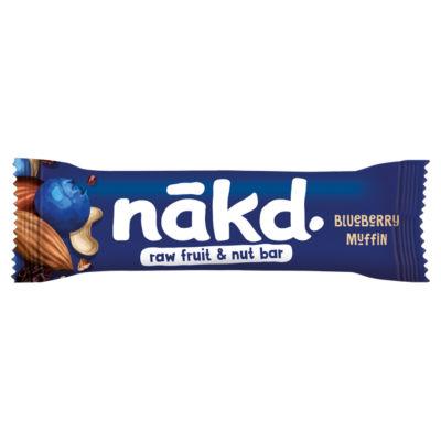 Nakd Blueberry Muffin Raw Fruit & Nut Bar