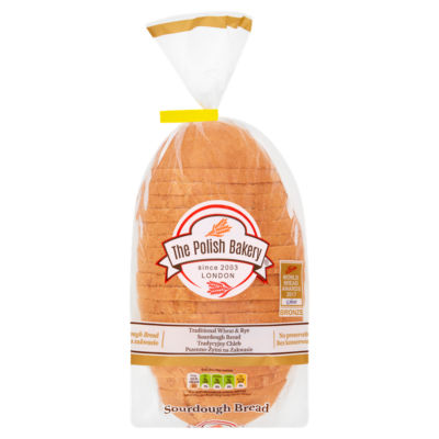 The Polish Bakery Half-Wheat Half-Rye Sourdough Bread