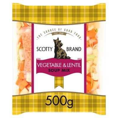 Scotty Brand Vegetable & Lentil Soup Mix
