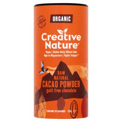 Creative Nature Superfoods Organic Peruvian Raw Cacao Powder