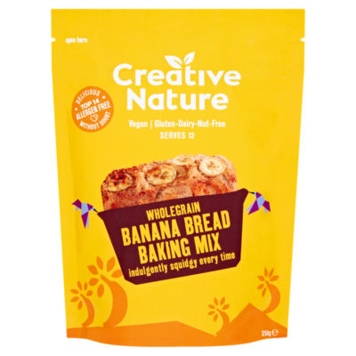 Creative Nature Wholegrain Banana Bread Baking Mix