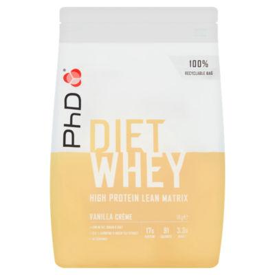 PhD Diet Whey Protein Powder Vanilla Créme