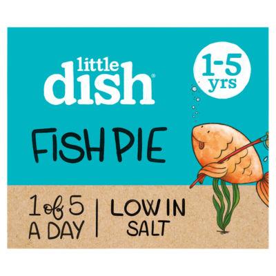Little Dish Salmon & Pollock Fish Pie Toddler Meal