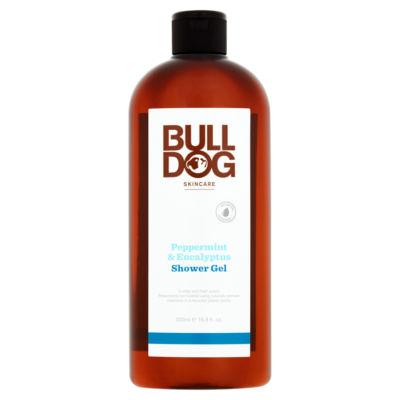 Bulldog Skincare Peppermint & Eucalyptus Shower Gel