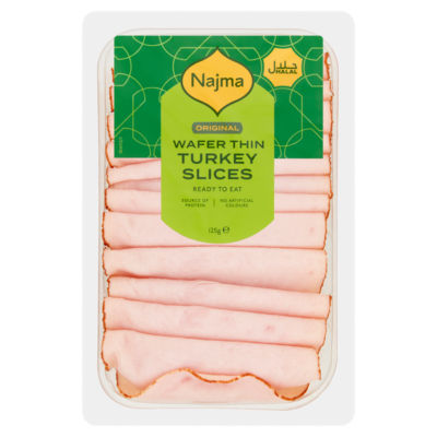 Najma Halal Wafer Thin Turkey Slices