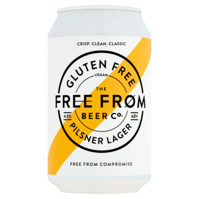 The Free From Beer Co. Gluten Free Pilsner Lager