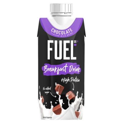 FUEL10K High Protein Chocolate Breakfast Milk Drink