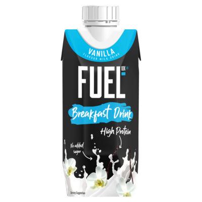 FUEL10K High Protein Vanilla Breakfast Milk Drink