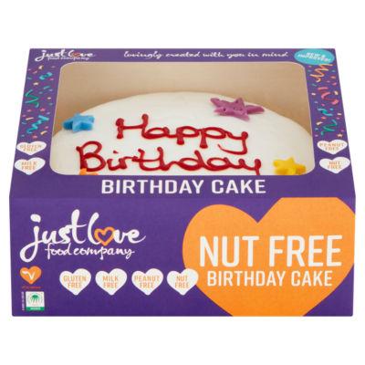 Just Love Food Happy Birthday Cake
