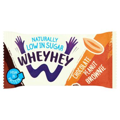 Wheyhey Chocolate Peanut Brownie